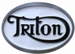 TRITON MOTORCYCLE BELT BUCKLES